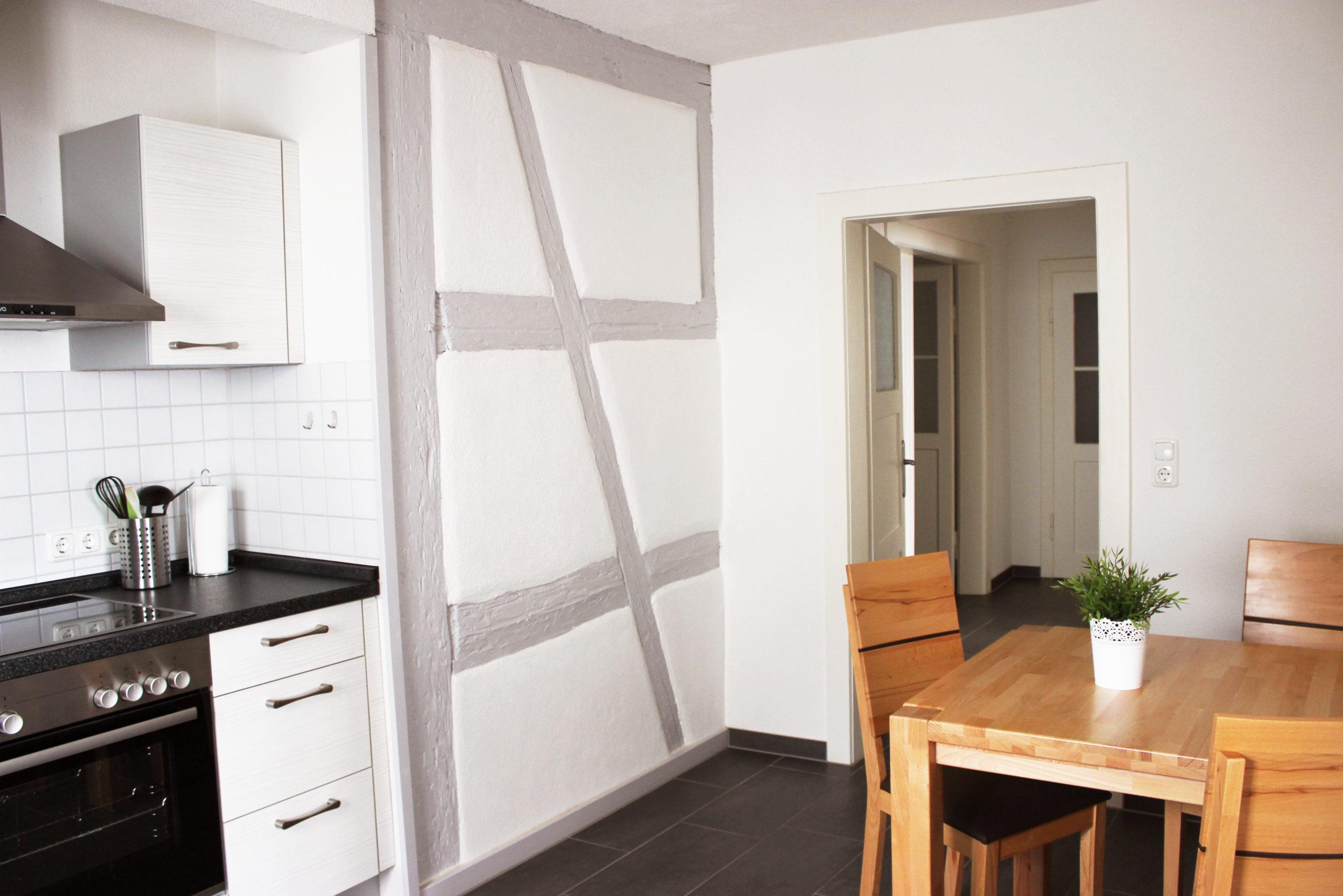 Küche mit Essplatz Fachwerk trifft Moderne
